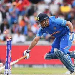 indian palyers sachin, lakshman and ganguly statement about dhoni in worldcup semifinal match