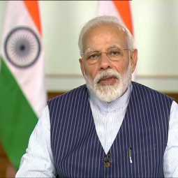 pm narendra modi discussion with sports players video conference