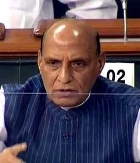 rajnath singh about border tension
