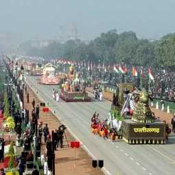 71TH REPUBLIC DAY CELEBRATION IN DELHI AT RAJ PATH PARADE TAMILNADU CULTURAL