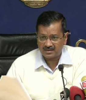 DELHI CM ARVIND KEJRIWAL PRESS MEET