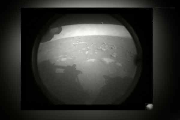 first picture from mars by perseverance