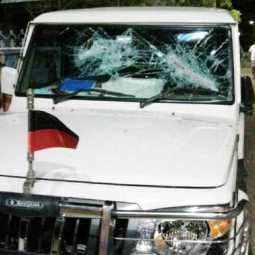 Two arrested for breaking Anita Radhakrishnan MLA's car