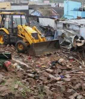 coimbatore district mettuppalayam area wall collapsed incident police