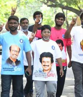 Rajni political entry  fans interview