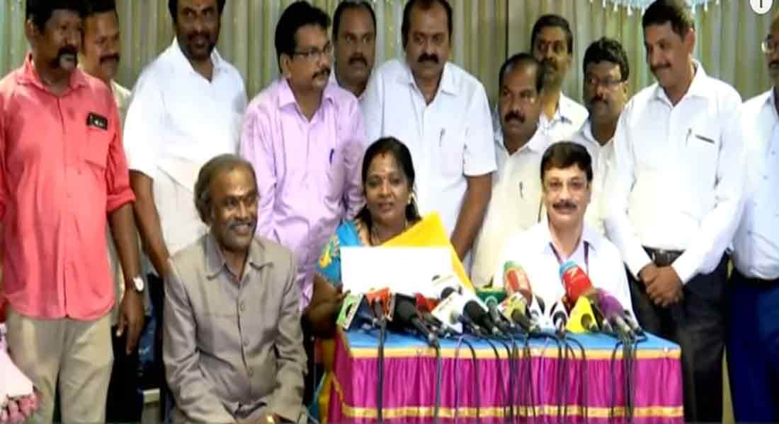 Sep 8: Tamilisai to be sworn in as governor