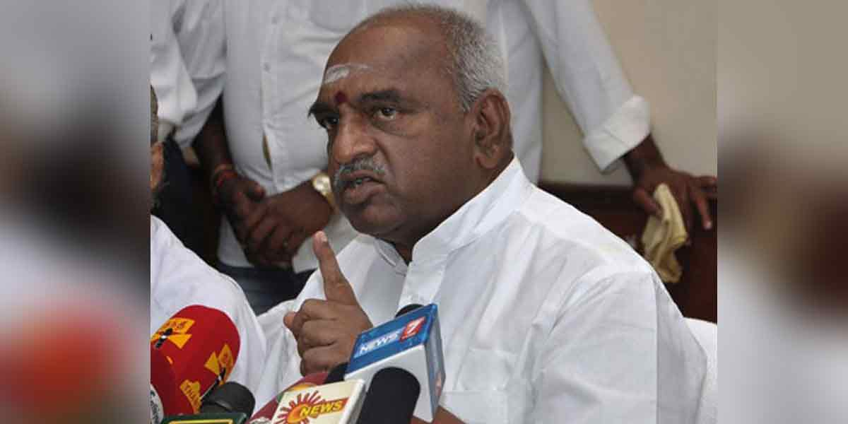'If BJP wins, they will call it a disorder' - Pon.Radhakrishnan about the voting machine!