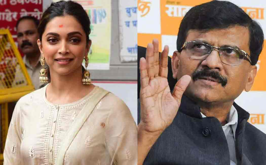 sanjay raut about deepika padukone's chhapaak movie issue