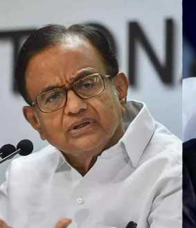p.chidambaram about indias democracy index rank