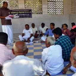 Village Council resolution against hydrocarbon in Pudukkottai, Thanjavur and Thiruvarur Districts
