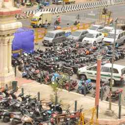 chennai police Vehicles seized