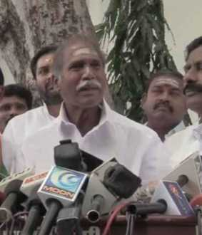 We will inform about the next step  - NR Congress Rangasamy