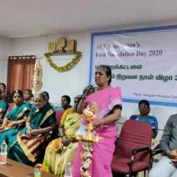 20 thousand families recovering from poverty Peace Revolution in Salem