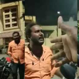 bjp person incident in chennai