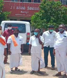 BJP leader lodges complaint with Karur MP Jyotimani