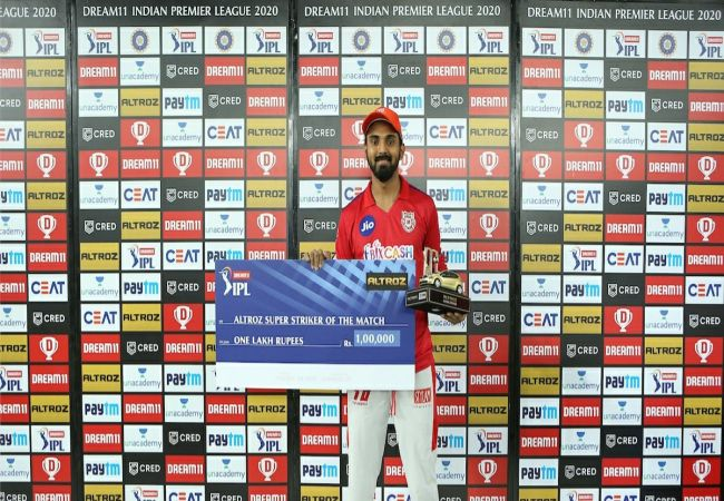 IPL MATCH PUNJAB TEAM WIN KL RAHUL