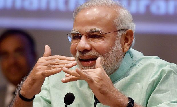narendra modi honoured with russia st andrew award