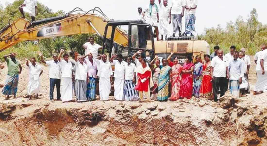 Discrimination in compensation: The villagers struggle to stop road work!
