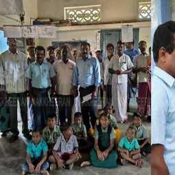 The villagers who fought and reopened the school