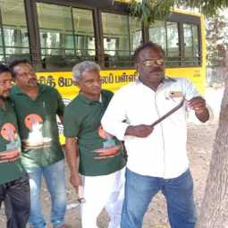 """Love the trees"" - Action volunteers to inspire Theni district administration !!"