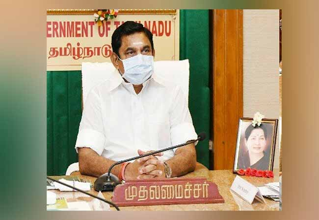 chennai corporation office cm palanisamy discussion