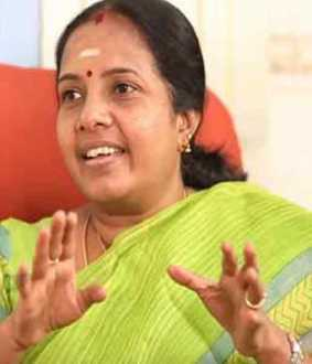 Rajini is not a political leader ... CM is right ... Vanathi Srinivasan Interview!