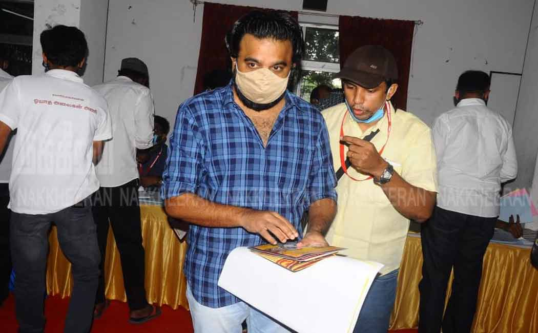 Tomorrow's counting of votes ... The filmmakers' association election is over (pictures)