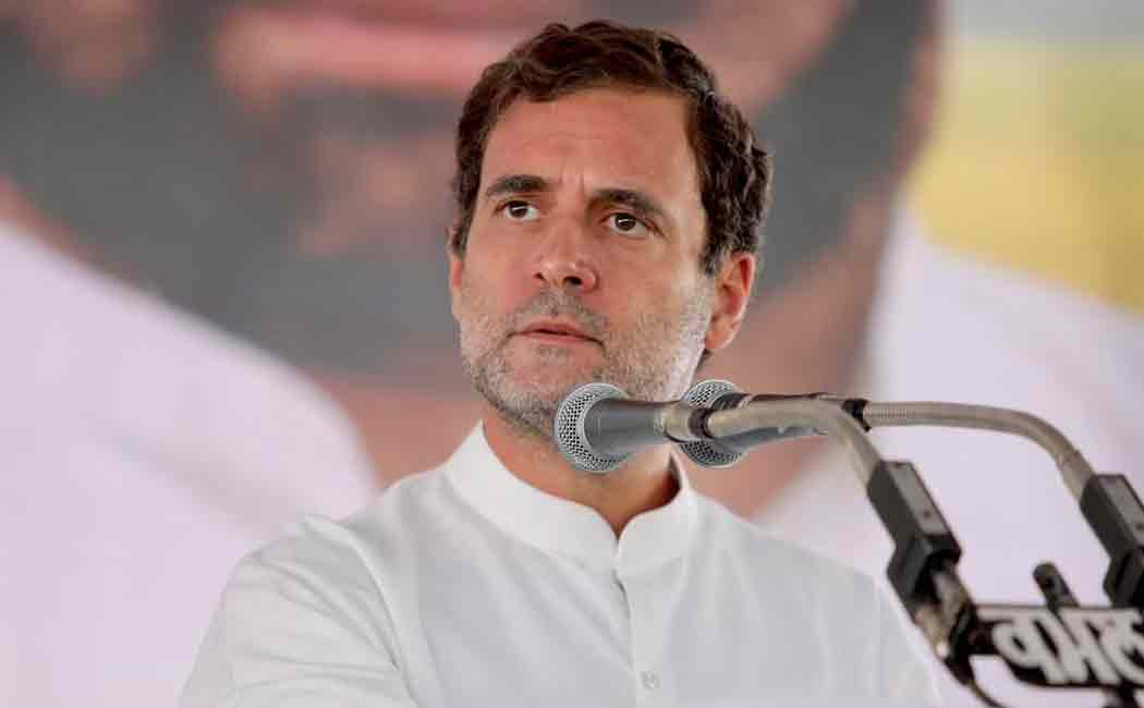 rahul about bjp promise for free covid vaccine