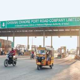 KANCHEEPURAM PARANUR TOLL GATE STAFF DEATH