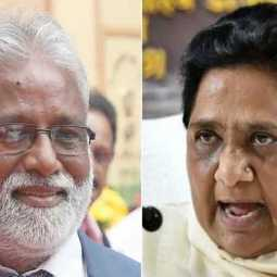 karnataka floor test not participate bsp party mla mahesh suspended announced party president mayavati