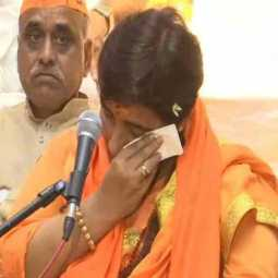 pragya thakurs doctor denies her statement about cancer treatment and says operation has done