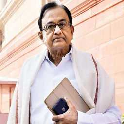 Former Union minister P Chidambaram home enforcement officers