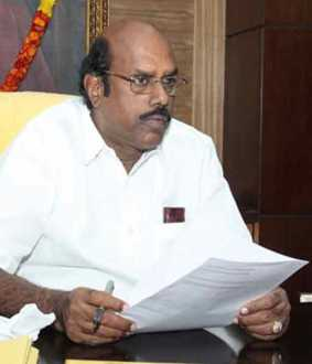 dmk EV Velu cancels election campaign