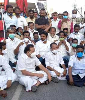 DMK youth wing leader udhay nithi leader arrest