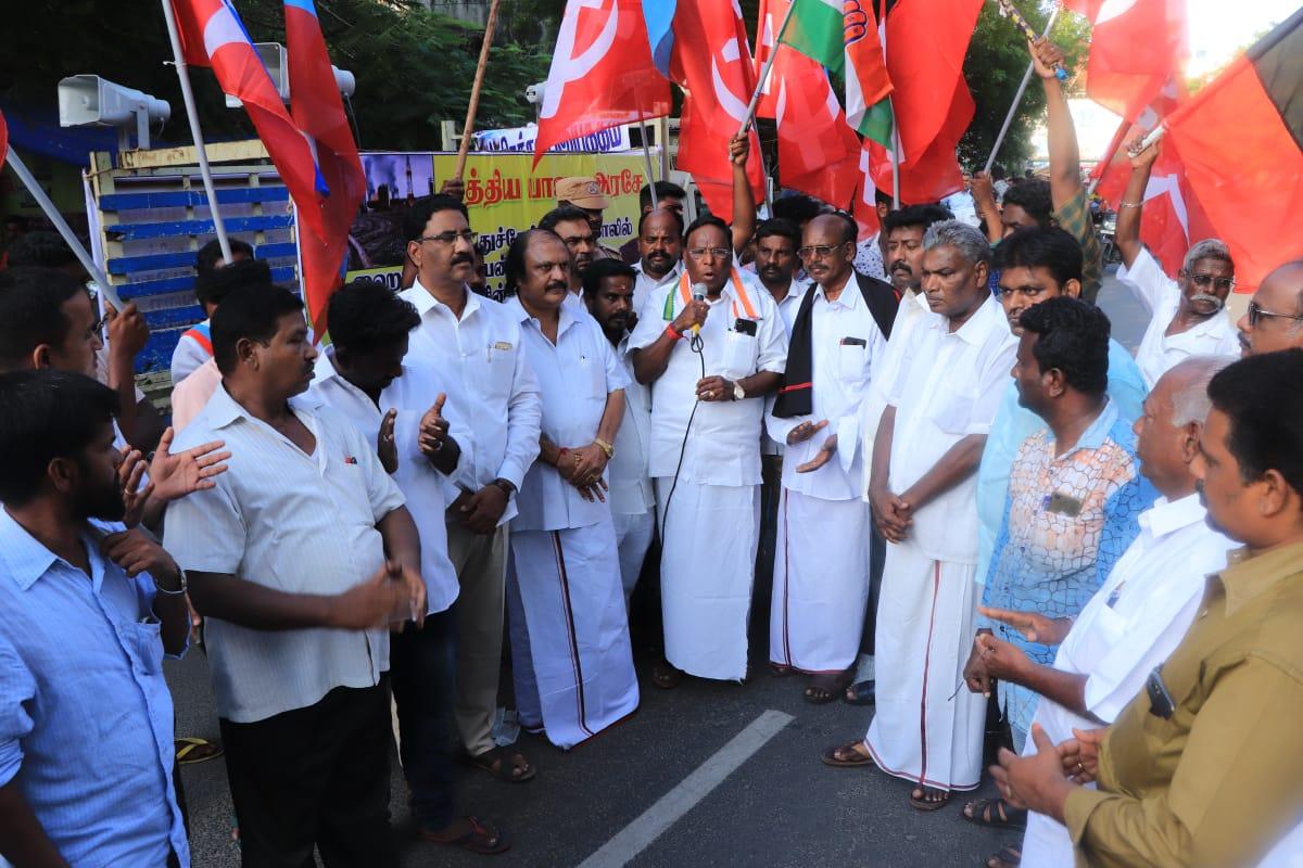 puducherry government related case supreme judgement cm narayanasamy speech
