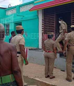 incident in nanguneri... police investigation