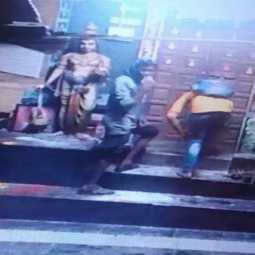 theft at aambur temple police investigating