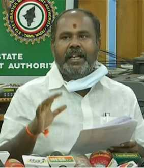 minister r.b.udhayakumar press meet at chennai