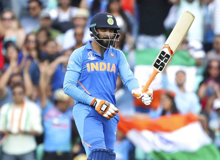 INDIA VS NEW ZEALAND SEMI FINAL MATCH RAVINDRA JADEJA OFF CENTURY