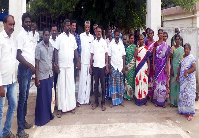VIRUDHUNAGAR DISTRICT SIVAKASI HOSPITAL WOMEN INCIDENT VSK PARTY