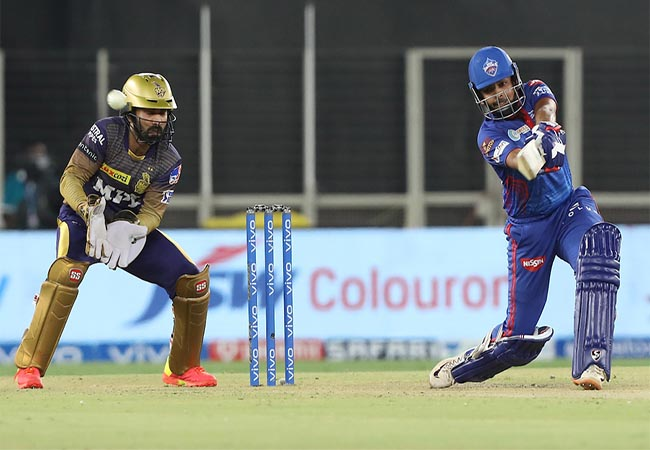 ipl cricket match delhi capitals won for 7 wickets