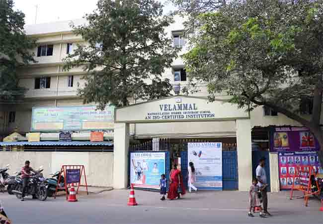 velammal group income tax raid properties seizure details