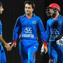 afganistan beats ireland by 126 runs in one day cricket match