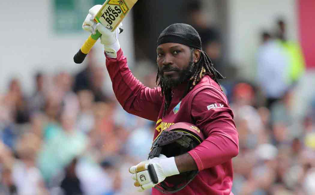 west indies players gave warm farwell to chris gayle