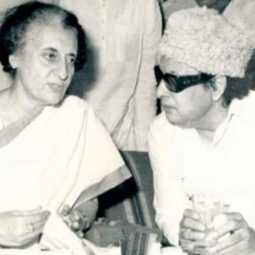 mgr with indhira gandhi