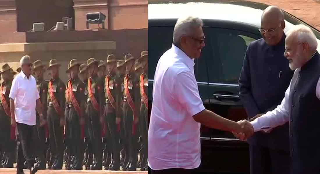 Modi welcomes Gotabhaya Rajapakse in Delhi ...