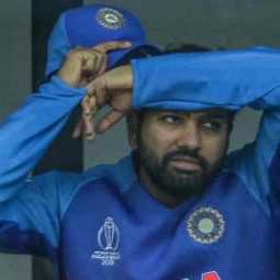 rohit sharma tweet about indian team loss in worldcup