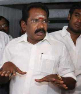 admk minister sellurraju about  bjp