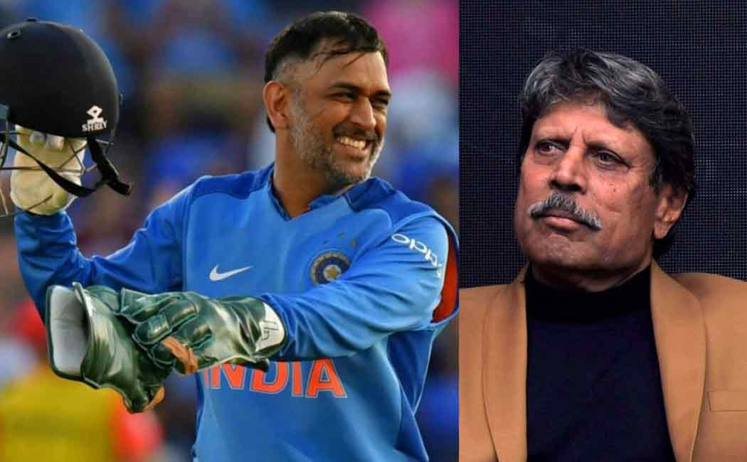 kapildev on dhonis inclusion in t20 worldcup