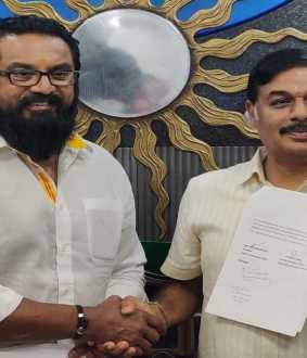 samathuva makkal katchi and indhiya jananayaga katchi join together